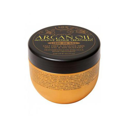 Kativa Интенсивный восстанавливающий увлажняющий уход для волос с маслом арганы 500 мл (Argana)