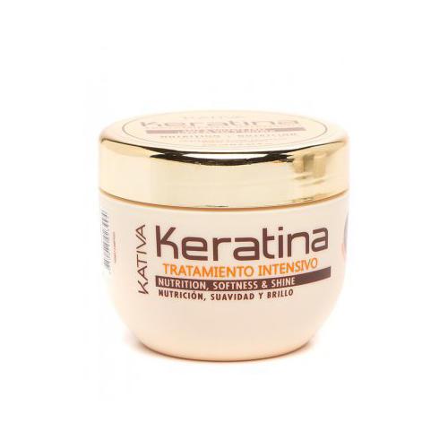 Kativa Интенсивный восстанавливающий уход с кератином для поврежденных и хрупких волос 250 мл (Keratina)