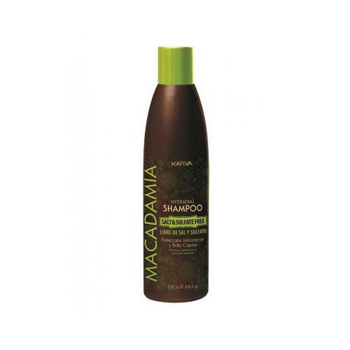 Kativa Интенсивно увлажняющий шампунь для нормальных и поврежденных волос 250 мл (Macadamia)