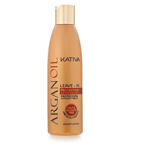 Kativa Несмываемый оживляющий концентрат для волос с маслом арганы 250 мл (Argana)