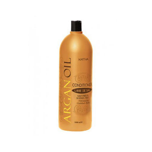 Увлажняющий кондиционер для волос с маслом арганы 250 мл (Kativa, Argana) kativa увлажняющий шампунь с маслом арганы argan oil 500 мл