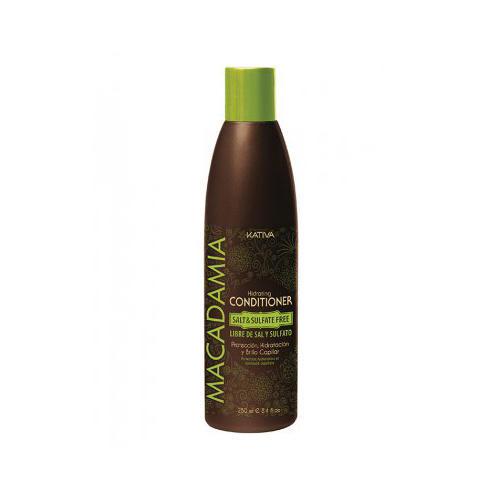 Kativa Интенсивно увлажняющий кондиционер для нормальных и поврежденных волос 250 мл (Macadamia)