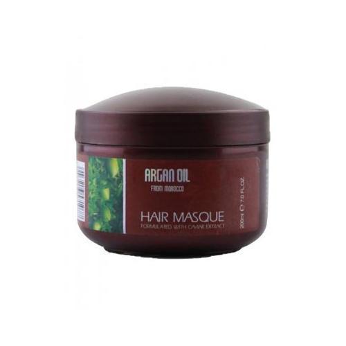 Kativa Питательная увлажняющая маска для волос с маслом арганы и экстрактом икры  200 мл (Morocco Argan Oil)