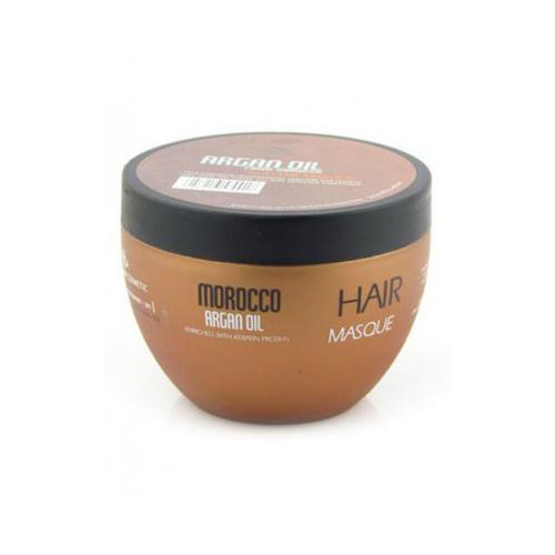 Востанавливающая маска  маслом арганы, аминокислотами кератина 250 мл (Kativa, Morocco Argan Oil)