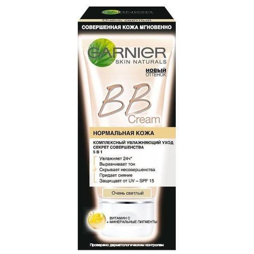 BBкрем Секрет Совершенства Очень светлый 50мл (Garnier, BBкремы) bbкрем для жирной кожи секрет совершенства натуральный 40мл garnier bbкремы