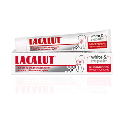Lacalut Зубная паста УАЙТ энд РИПЕЙР (Lacalut, Зубные пасты)