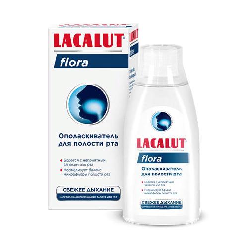 Ополаскиватель для полости рта flora (Lacalut, Ополаскиватель) цены
