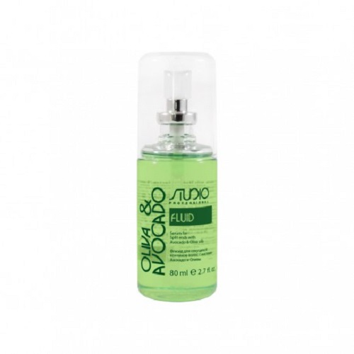 Купить Kapous Professional Флюид для секущихся кончиков волос с маслами авокадо и оливы 80 мл (Kapous Professional, Studio), Италия