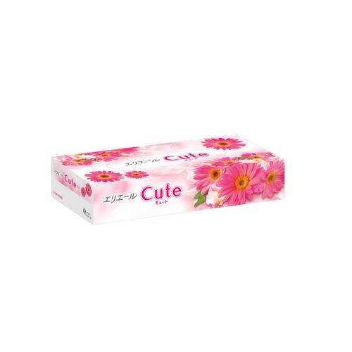 Elleair Салфетки бумажные в коробке Cute, 160 шт (Elleair, Cute)