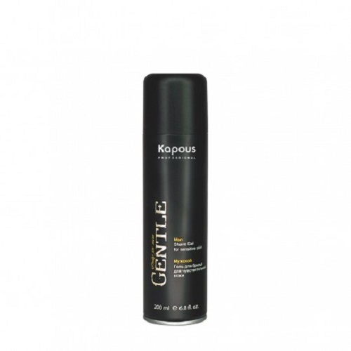 Мужской гель для бритья для чувствительной кожи с охлаждающим эффектом 200 мл (Kapous Professional, Gentlemen)