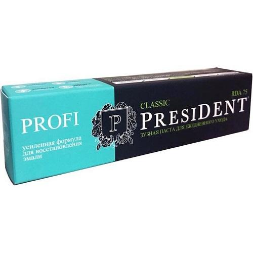 Купить President Зубная паста PROFI Classic 100 мл 1 шт (President, Classic), Италия