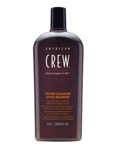 American Crew Power Cleanser Style Remover Ежедневный очищающий шампунь 1000 мл (American Crew, Для тела и волос) american crew power cleanser style remover ежедневный очищающий шампунь 250 мл american crew для тела и волос