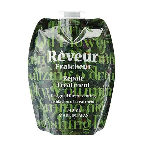 Reveur Fraicheur Repair Запасной блок Живой Кондиционер для восстановления волос 340 мл (Reveur Fraicheur)