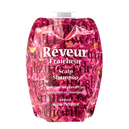 Reveur Fraicheur Scalp Запасной блок «Живой» Бессиликоновый шампунь для ухода за кожей головы 340 мл (Reveur Fraicheur) от Pharmacosmetica