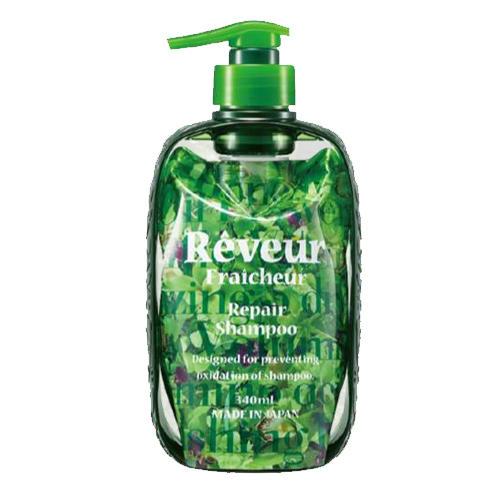Reveur Fraicheur Repair Живой Бессиликоновый шампунь для восстановления поврежденных волос 340 мл (Reveur, Reveur Fraicheur) шампунь reveur rich repair