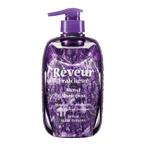 Reveur Fraicheur Moist Живой Бессиликоновый шампунь для увлажнения волос 340 мл (Reveur, Reveur Fraicheur) шампунь reveur rich repair