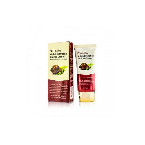 Восстанавливающий ББ крем с экстрактом улитки SPF40 PA 50 гр (Farmstay, Для макияжа) бб крем сайт