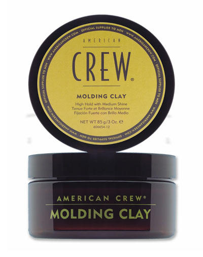Купить American Crew Classic Molding Clay Формирующая глина для укладки волос сильной фиесации 85 мл (American Crew, Стайлинг), США