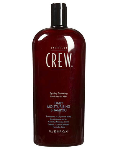 Фото - American Crew Daily Moisturizing Shampoo Шампунь увлажняющий 1000 мл (American Crew, Для тела и волос) american crew шампунь для ежедневного ухода за волосами 450 мл american crew для тела и волос
