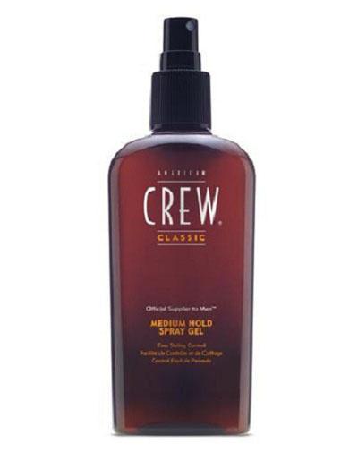Купить American Crew Classic Medium Hold Spray Gel Спрей-гель для волос средней фиксации 250 мл (American Crew, Styling), США