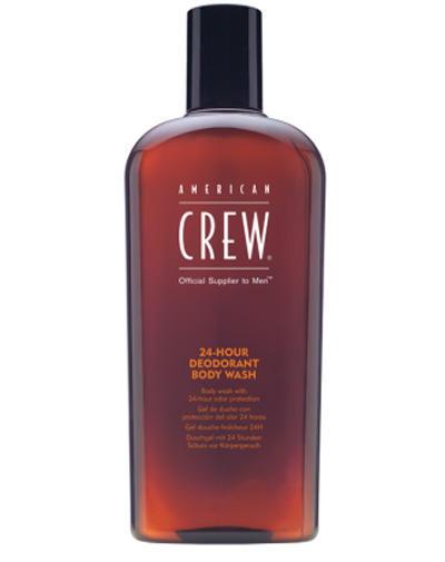 цена 24Hour Deodorant Body Wash Гель для душа дезодорирующий 450 мл (American Crew, Для тела и волос) в интернет-магазинах
