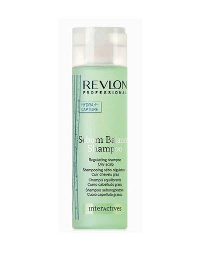 Interactives Sebum Balance Shampoo Шампунь для жирной кожи 250 мл (Revlon Professional, Interactive) шампунь для волос увлажняющий и питательный proyou nutritive shampoo 350мл revlon professional proyou