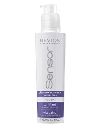 Revlon Professional Шампунь-кондиционер, придающий энергию для нормальных волос Sensor Vitalizing Shampoo, 200 мл (Revlon Professional, Шампуни Revlon)
