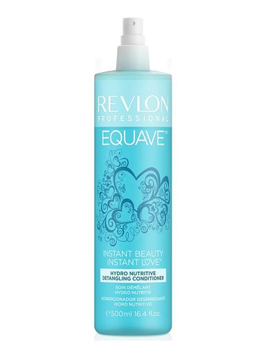 Фото - Revlon Professional Несмываемый 2-х фазный увлажняющий и питательный кондиционер 500 мл (Revlon Professional, Equave) revlon professional equave anti breakage несмываемый спрей кондиционер для мгновенного распутывания волос 200мл