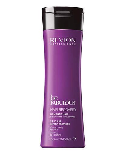 Очищающий шампунь с кератином C.R.E.A.M. RP Be Fabulous 250 мл (Revlon Professional, C. R. E. A. M.)