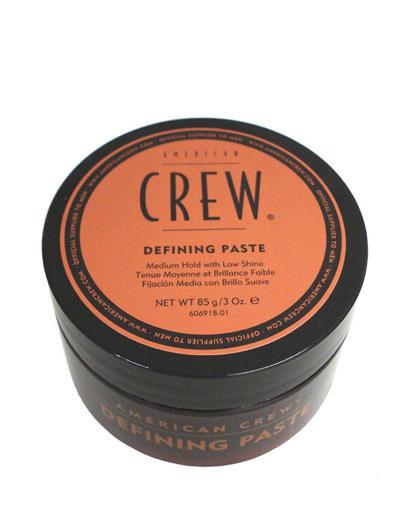 Паста со средней фиксацией и низким уровнем блеска для укладки волос 85 гр. (American Crew, Стайлинг) american crew формирующая глина для волос мужская сильной фиксации со средним уровнем блеска king classic molding clay 85 г page 4 page 4
