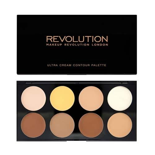 Палетка корректоров и хайлайтеров Ultra Cream Contour Palette (Makeup Revolution, Лицо) makeup revolution ultra cream contour палетка для контурирования