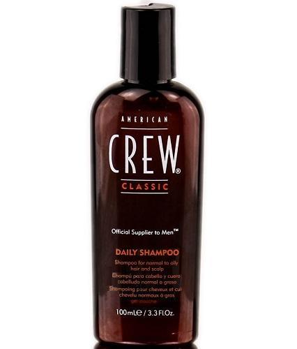 Фото - American Crew Шампунь для ежедневного ухода 100 мл (American Crew, Для тела и волос) american crew шампунь для ежедневного ухода за волосами 450 мл american crew для тела и волос