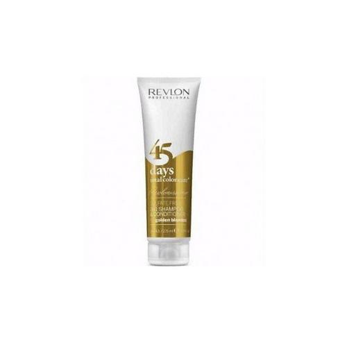 Revlon Professional Шампунь-кондиционер для Золотистых Блондинок RCC 45 Days Shampoo Golden blondes 275 мл (Revlon Professional, Шампуни Revlon)