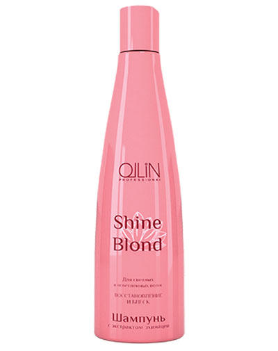 Shine Blond Шампунь с экстрактом эхинацеи 300 мл (Ollin Professional, Shine Blond) цены