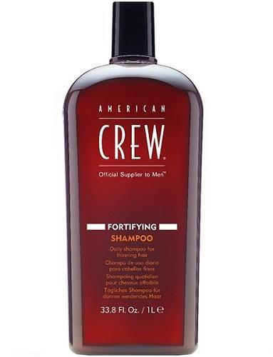 American Crew Укрепляющий шампунь для тонких волос 1000 мл (American Crew, Для тела и волос) ducray неоптид лосьон от выпадения волос для мужчин 100 мл