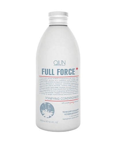 Ollin Professional Full Force Тонизирующий кондиционер с экстрактом пурпурного женьшеня 300 мл (Ollin Professional, Уход за волосами)