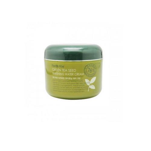 Увлажняющий осветляющий крем с семенами зеленого чая 100 гр (Farmstay, Для лица) цены онлайн
