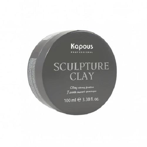 Kapous Professional Глина для укладки волос нормальной фиксации 100 мл (Kapous Professional, Средства для укладки) глина для укладки волос сильной фиксации с матовым эффектом 100мл