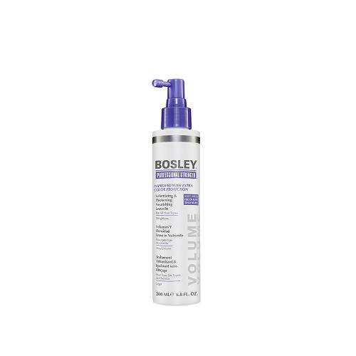 Питательное несмываемое средство для объема и густоты волос 200 мл (Bosley, Стайлинг) несмываемое масло для волос