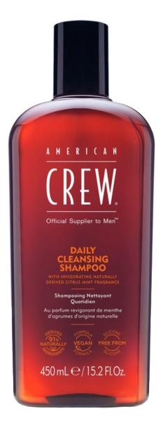 Купить American Crew Ежедневный очищающий шампунь 450 мл (American Crew, Для тела и волос), США