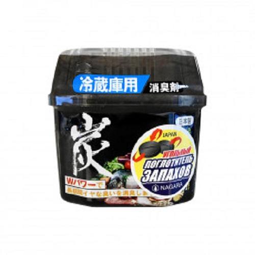 Nagara Уголь древесный для устранения запаха в холодильнике 160 г (Nagara, Бытовая химия)
