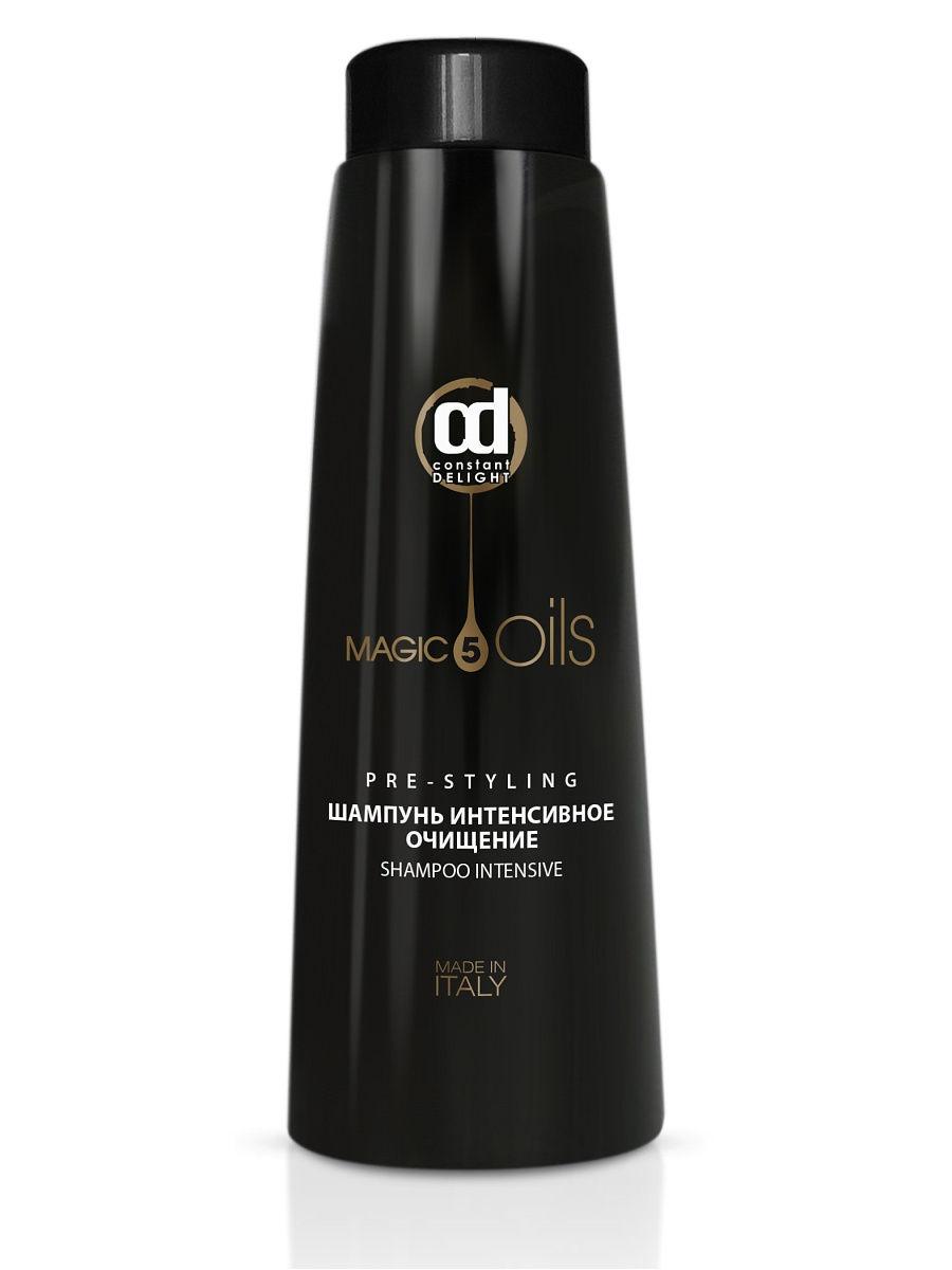 Constant Delight Шампунь Pre-Styling глубокой очистки 1000 мл (Constant Delight, 5 масел) constant delight масло для окрашивания волос olio colorante 5 02 каштановый натуральный пепельный 50 мл