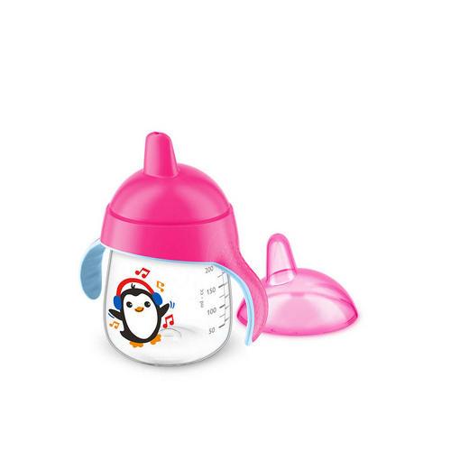 Чашкапоильник, (260 мл, 12 мес) розовая для детей до 3х лет SCF75307 (Avent, Детская посуда) чашкапоильник с трубочкой 300 мл 12 мес scf79802 avent детская посуда