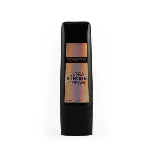 Основа для сияния кожи Ultra Strobe Cream (Makeup Revolution, Лицо) тональная основа milani smooth finish cream to powder makeup 07 цвет 07 medium beige variant hex name e9bf9b