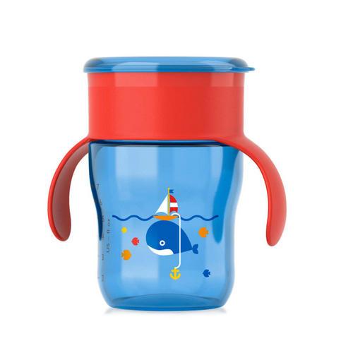 Фото - Чашкапоильник Кит (260мл) (Avent, Детская посуда) [супермаркет] jingdong геб scybe фил приблизительно круглая чашка установлена в вертикальном положении стеклянной чашки 290мла 6 z