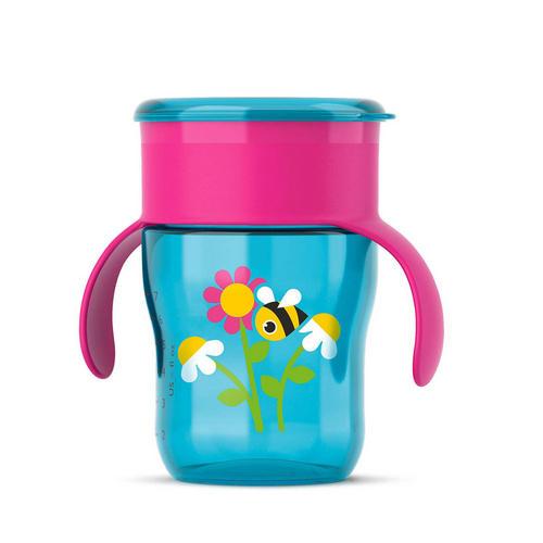 Фото - Чашкапоильник Пчелка (260мл) (Avent, Детская посуда) [супермаркет] jingdong геб scybe фил приблизительно круглая чашка установлена в вертикальном положении стеклянной чашки 290мла 6 z
