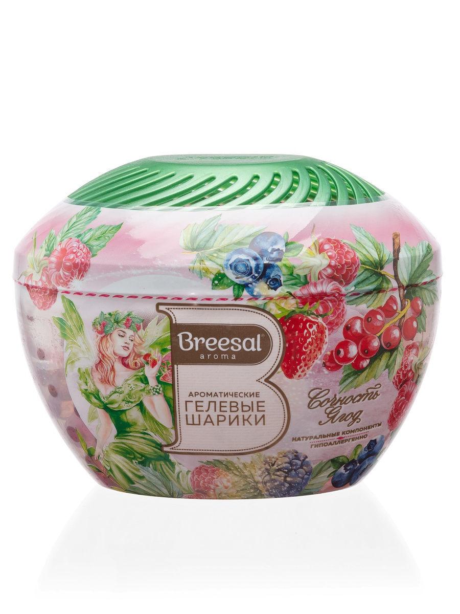 Breesal Fresh Drops Ароматические гелевые шарики «Сочность ягод» (Breesal, Гелевые ароматизаторы)