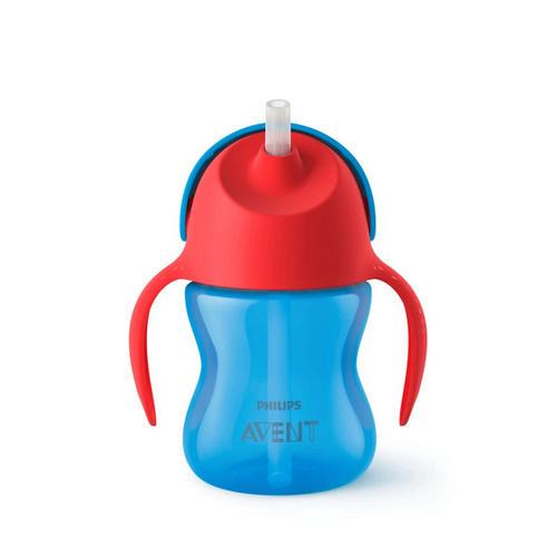 Чашкапоильник с трубочкой (200 мл, 9мес) SCF79601 (Avent, Детская посуда) чашкапоильник с трубочкой 300 мл 12 мес scf79802 avent детская посуда