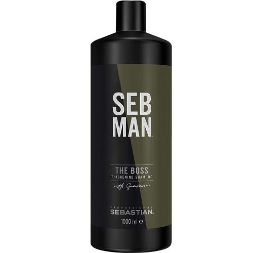Sebman Освежающий шампунь для увеличения объема 1000 мл (Sebman, Для волос)