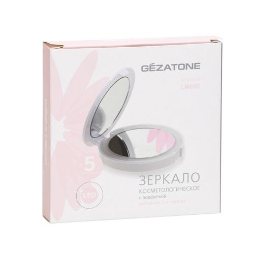 Gezatone Набор зеркал косметологических 1х 5x с подсветкой 1 шт (Gezatone, Косметические зеркала)